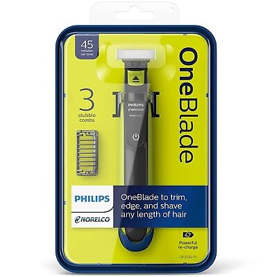 Philips Norelco OneBlade Combination Electric Trimmer and Shaver QP2520 One Blade