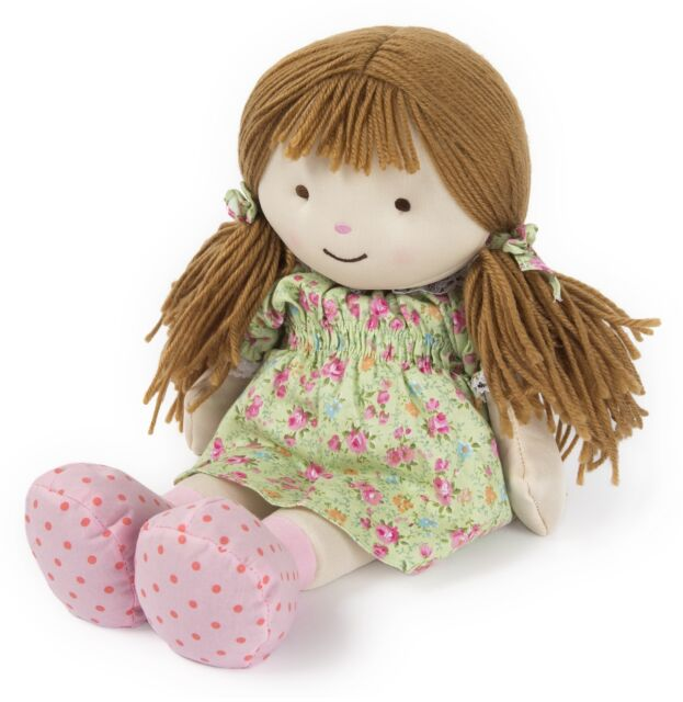 Intelex Warmheart Rag Doll Ellie Fully Microwavable Dolly Heatable Bed Time Toy