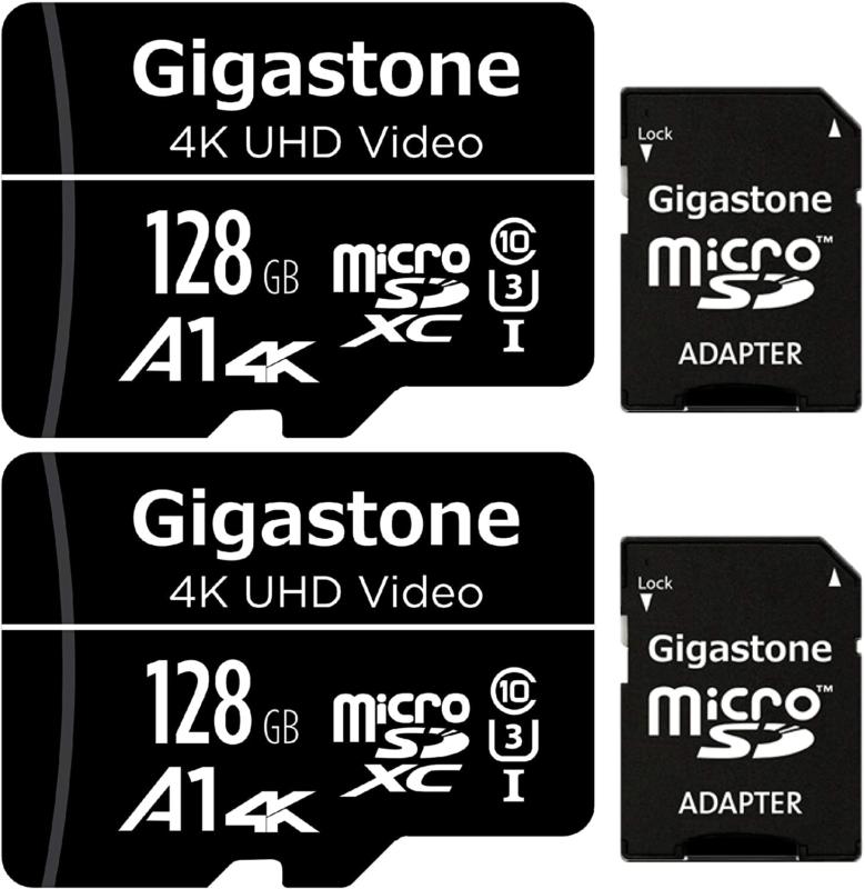 128gb 2 pack micro sd card 4k