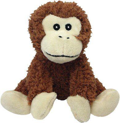 Multipet Look Who's Talking Monkey Plush Dog Toy Free Shipping