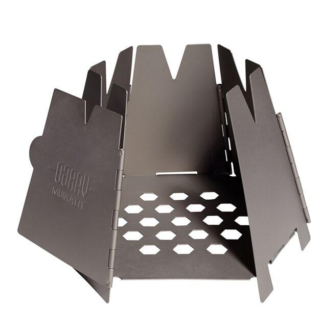 Vargo Titanium Hexagon Wood Stove T-415 - Vargo Titanium Hexagon Wood Stove EBay