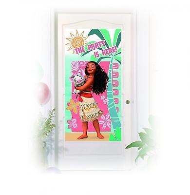 MOANA PLASTIC PARTY DOOR BANNER DISNEY NEW GIFT - Door Banners