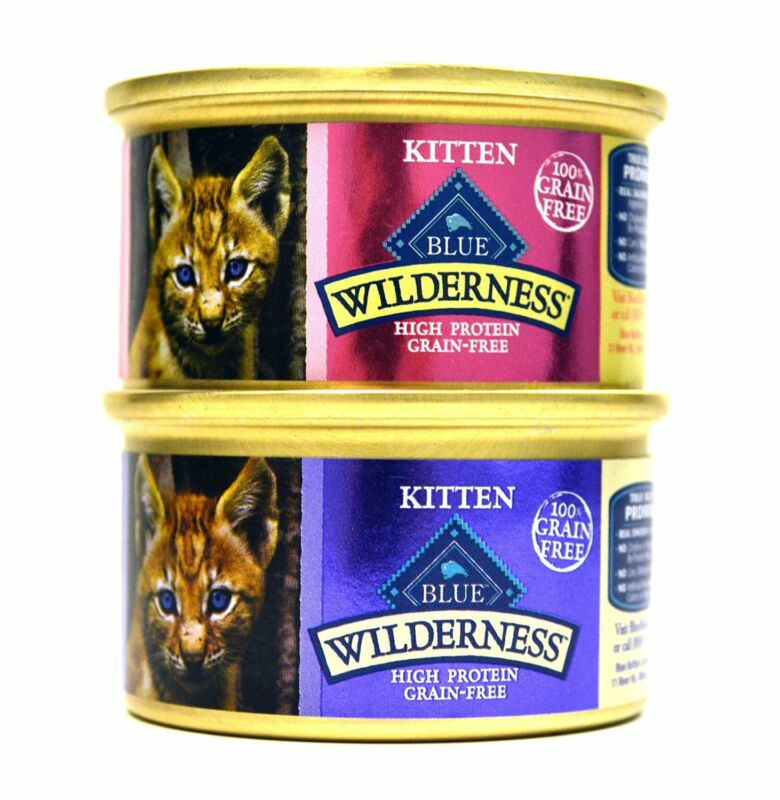 Blue Buffalo Wilderness Grain-Free Variety Pack Wet Kitten Food
