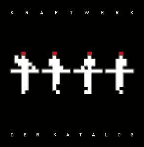 KRAFTWERK - DER KATALOG (SCHWARZE EDITION) 8 CD DISCO DANCE ELECTRO POP NEU