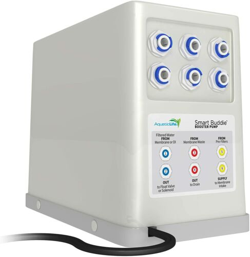 READ! Aquatic Life Smart Buddie Booster Pump for 50-100 GPD Reverse Osmosis