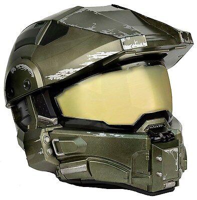 Master Chief - Motorcycle Helmet - Size X-LARGE - NECA