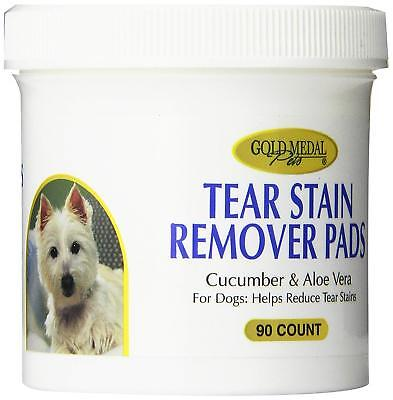 Gold Medal Pets Tear Stain Remover Pads for Dogs, 90 Count