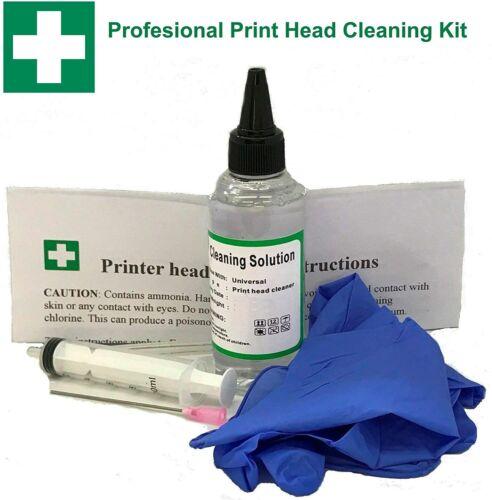 Professional Epson Printer Cleaning Kit Unblock Print Head Nozzles Cleaner Flush