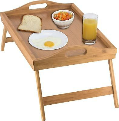 Bed Trays With Legs (Bed Tray table with folding legs, and breakfast tray Bamboo table and bed tray  )