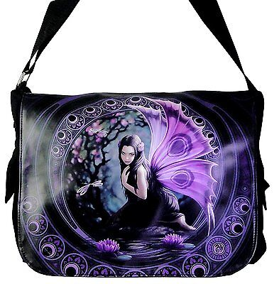 ANNE STOKES FANTASY DRAGON MEDIEVAL ART, MESSENGER BAG **YOUR CHOICE OF ART** BY