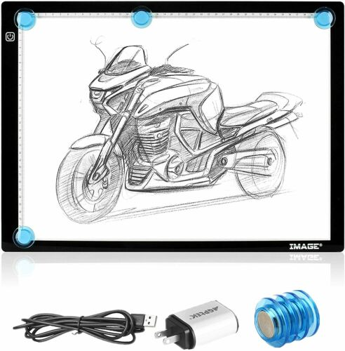 Image A3 Light Box Magnetic Artcraft Tracing Light Pad for Sketching