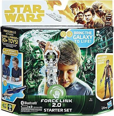 NEW OFFICIAL STAR WARS FORCE LINK 2.0 STARTER SET