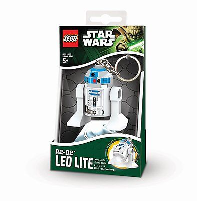 Santoki Lego Star Wars R2-D2 Mini Figure LED Key Lite Keychain Keyring Light Toy