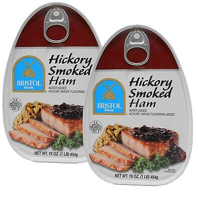 Bristol Hickory Smoked, Canned Ham - 16oz (Pack of -