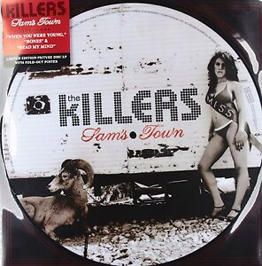 The Killers **Sam's Town **Brand New Picture Disc LP Record Vinyl