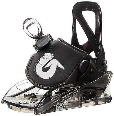 Burton Grom Youth Snowboard Binding Youth Black 2016 New!
