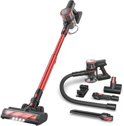 2021NEW Upgrade MOOSOO K17Pro Cordless Vacuum Cleaner 24kpa Suction Ultra-Quiet