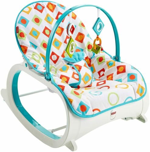 Soothing Baby Seat with Removable Bar, Infant To Toddler Rocker, New