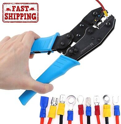 Electrical Wire Connector Terminal Crimping Tool Wire Crimper 0.5 -6 Mm Awg