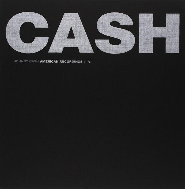 JOHNNY CASH : THE AMERICAN RECORDINGS BOX SET I - VI  (7 disc LP Vinyl) sealed