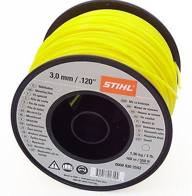 0000 930 2542 Stihl Trimmer Line 168 m Round 3.0 mm