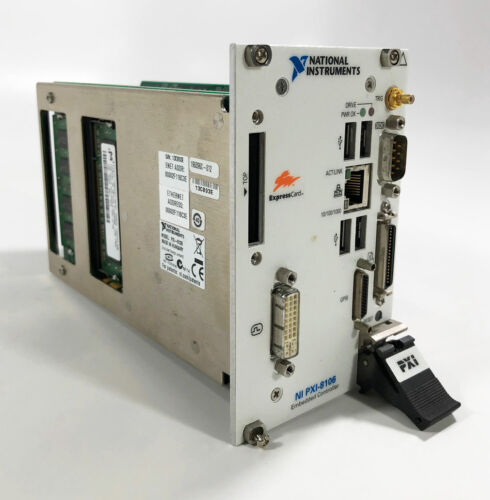 National Instruments PXI-8106 2.16GHz Dual-Core PXI Embedded Controller +Labview