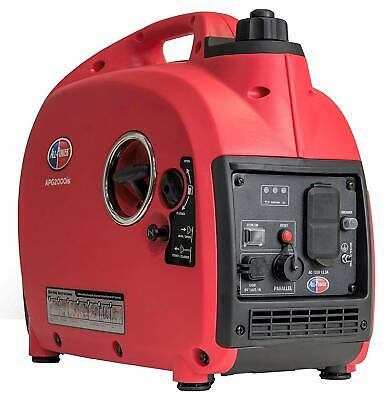 All Power 2000-watt Quiet Portable Gas Powered Inverter Generator Home Backup Rv
