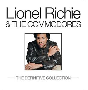 LIONEL RICHIE & THE COMMODORES: DEFINITIVE COLLECTION 2CD ALBUM (greatest hits)