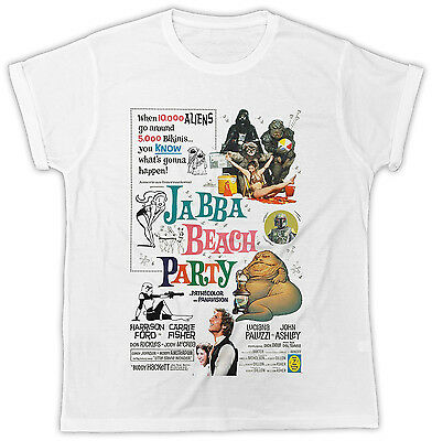 FUNNY JABBA THE HUTT BEACH PARTY COOL IDEAL GIFT BIRTHDAY PRESENT FASHION TSHIRT