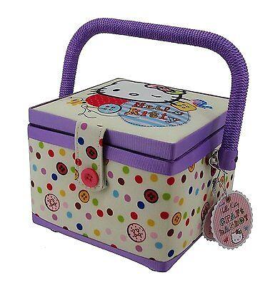 Hello Kitty Craft Sewing Basket Box