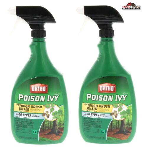 Ortho Poison Ivy & Tough Brush Killer Ready-To-Use ~ New