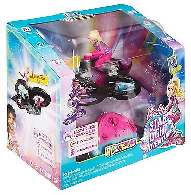 Barbie Star Light Adventure Flying RC Toy Hover Drone Quadcopter Doll New