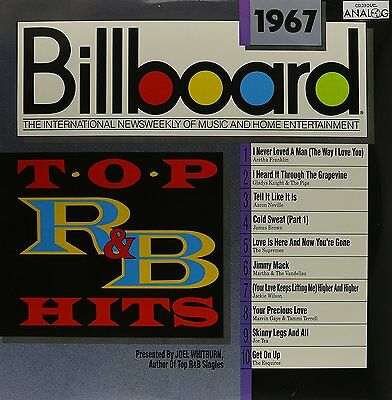 Billboard Top R&B Hits: 1967 [Vinyl] MARVIN GAYE JAMES BROWN ARETHA FRANKLIN
