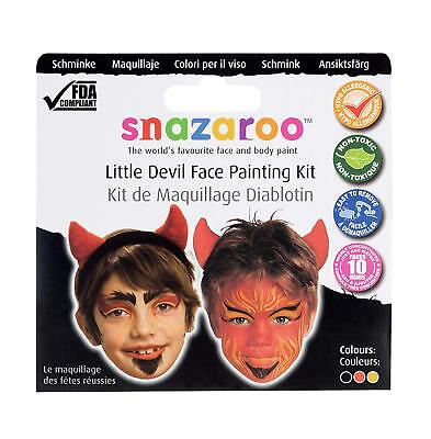 Snazaroo Little Devil Gesicht Schminke Kit-Face & Körperfarbe Halloween Kostüm