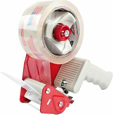 New Material Shipping Packing Tape Gun Handheld Wrapping Dispenser W55 Yd Roll