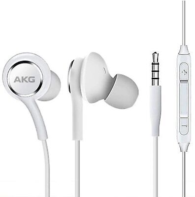 Corded Stereo Earbuds Headphones for Amazon Fire HD 10 Plus mic and volume ctrl