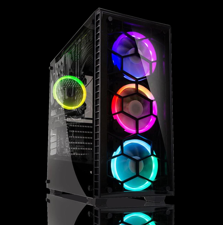 Gaming PC AMD Ryzen 2600 | GTX 1660 6GB | 16GB | 120 GB SSD+1TB HDD | Win 10