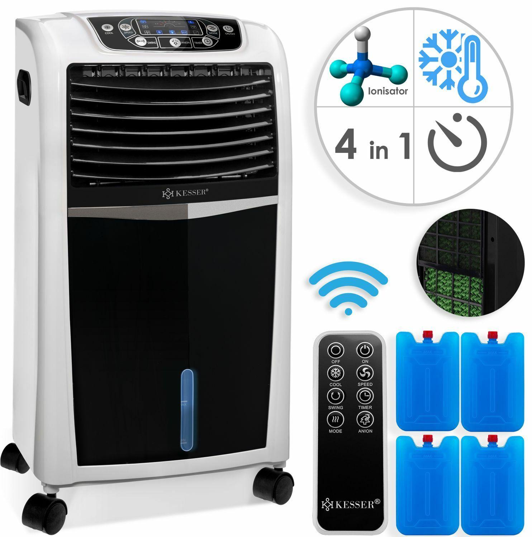 KESSER® 4in1 mobile Klimaanlage Timer Klimagerät Luftkühler Ventilator Ionisator