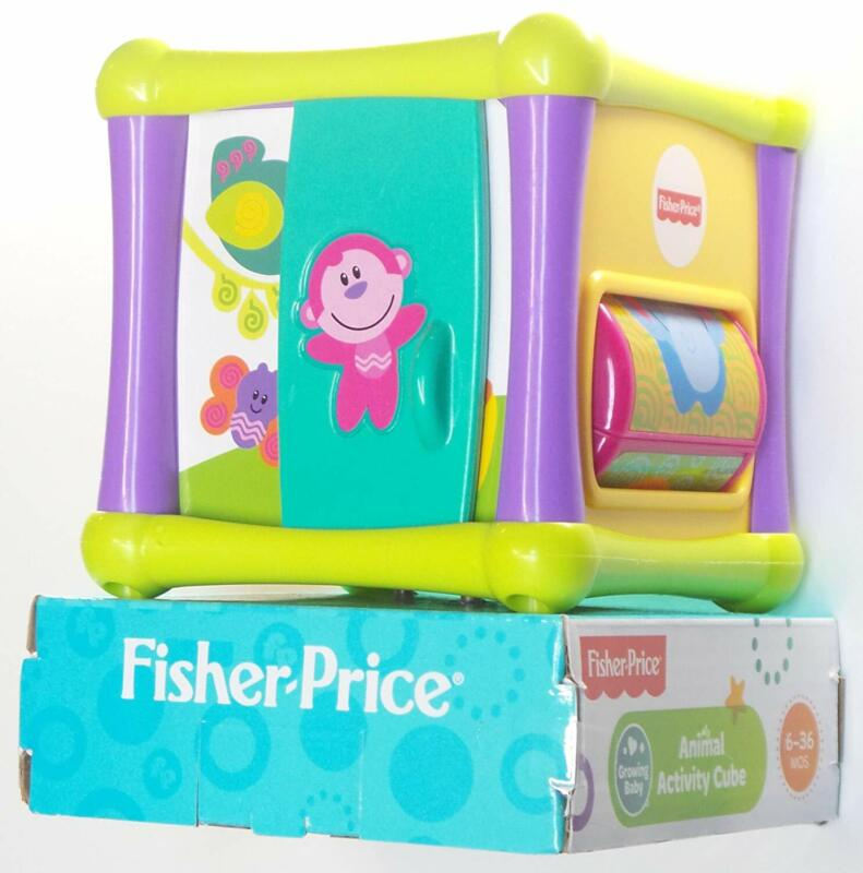Growing Baby Animal Activity Cube