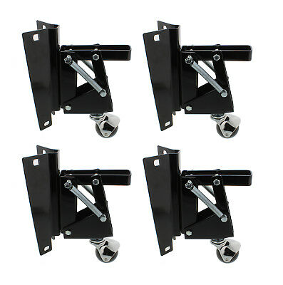 Dct Heavy-duty Retractable Workbench Swivel Caster Wheels With Bracket 4-pack
