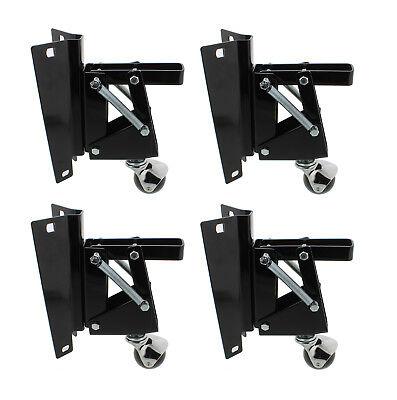 Dct Heavy-duty Retractable Workbench Swivel Caster Wheels With Bracket 4-pack