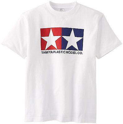 Tamiya Japón Oficial Original Logo Camiseta Blanco Talla:S
