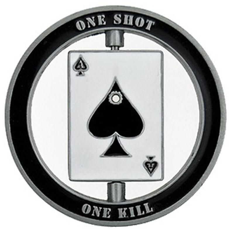 Smokin Ace One Shot Lucky Casino Poker Texas Holdem Card Guard Chip Protector