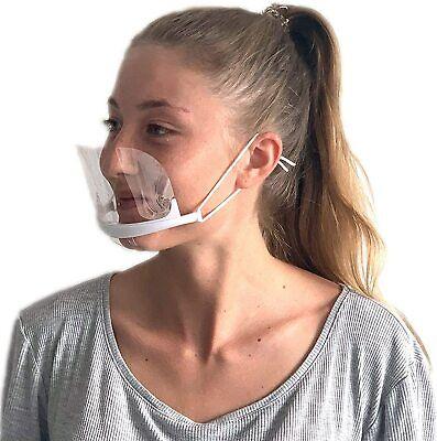 Visier Gesichtsschutz AntiFog Transparent Premium Large (Kunststoff-visier)