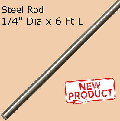 Stainless Steel Solid Round Stock 14 X 6 Ft 72 Long Annealed Unpolished Rod