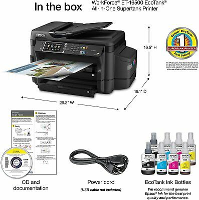 NEW Epson WorkForce ET-16500 EcoTank Wide-format All-in-One Supertank Printer