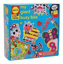ALEX Toys 530X Little Hands My Giant Busy Box Preschool Kids Arts & Craft Kit
