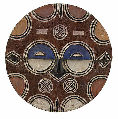 Mask African Teke Kidumu Congo Art Tribale First Primitive D'Africa 6419
