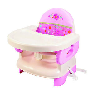 NEW-Summer-Infant-Deluxe-Comfort-Booster-Seat-High-Chair-Baby-Feeding-PINK