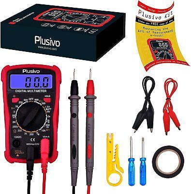 Clamp Digital Meter Ac Multimeter New Fluke Tester Dc Voltage Rms Amp True Test